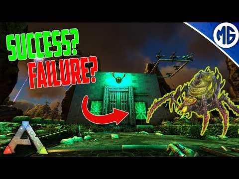 OUR FIRST BOSS FIGHT!!! Road to Tek Official PvP Ep 18 - Ark: Survival Evolved