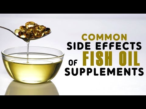9 Common Side Effects Of Fish Oil Supplements