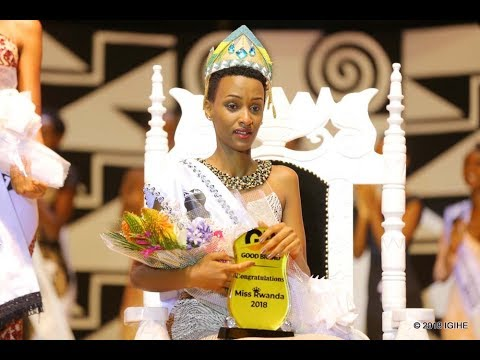18 YEAR OLD IRADUKUNDA LILIANE CROWNED MISS RWANDA 2018