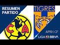 Resumen y Goles | América vs Tigres UANL | Cuartos de FInal - Apertura 2019 | Liga BBVA MX