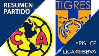 Download Resumen y Goles | América vs Tigres UANL | Cuartos de FInal - Apertura 2019 | Liga BBVA MX Mp3 and Videos