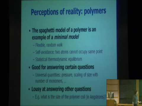 Patterns, Universality and Computational Algorithms - Nigel Goldenfeld