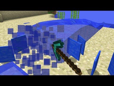 Mining Water in Minecraft!