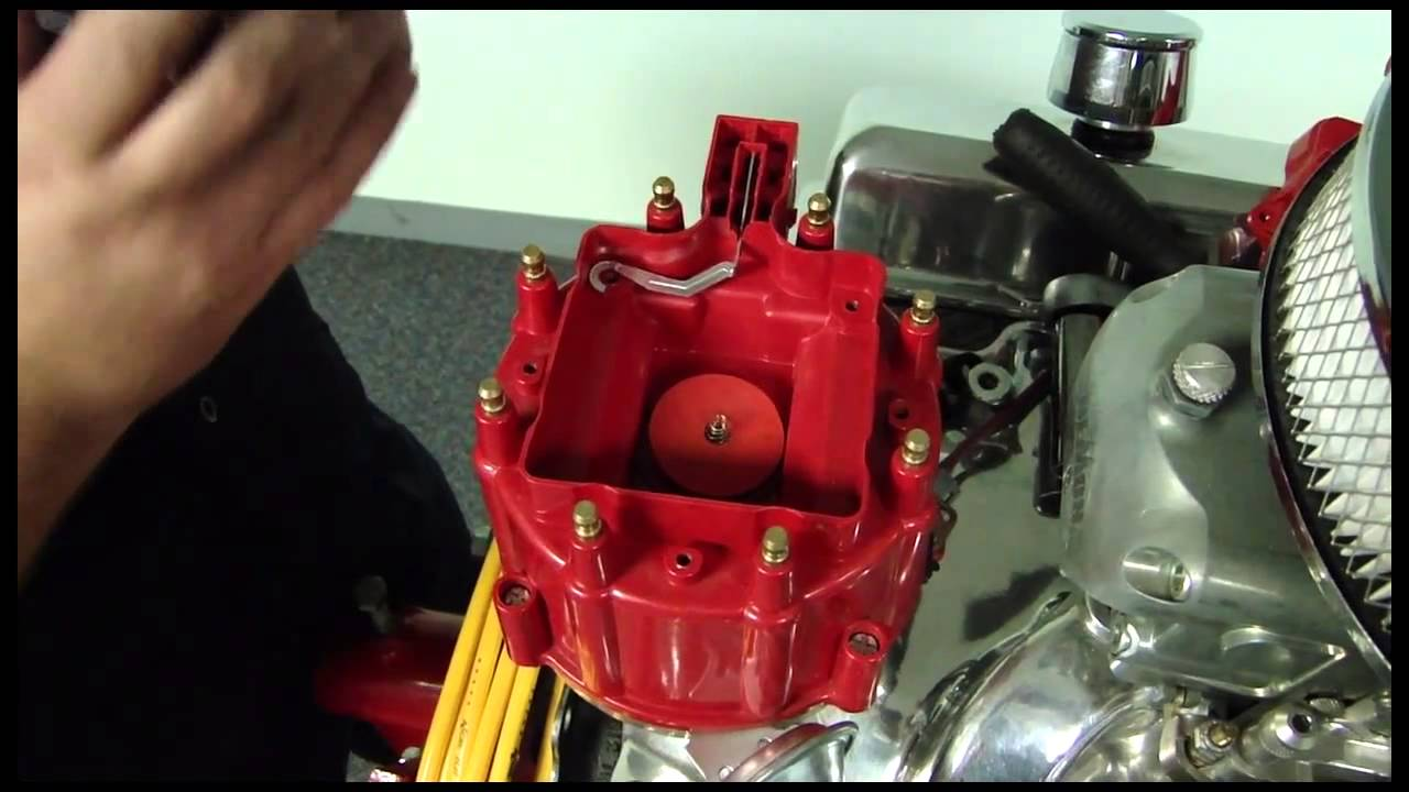 Ford Pto Wiring Diagram Accel Gm Hei Corrected Distributor Cap How To Youtube
