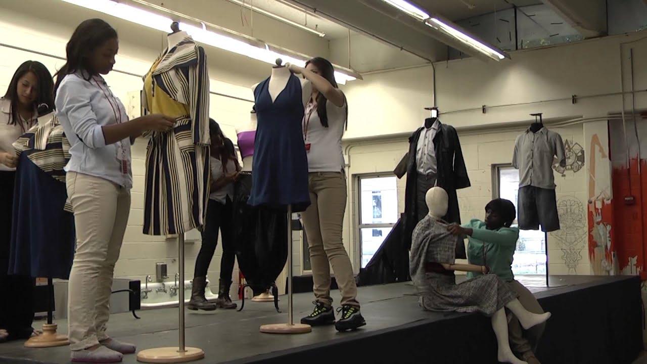 Fashion Design In High School School Style