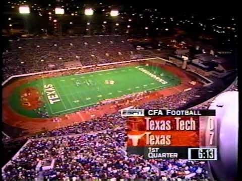 Texas v Texas Tech 1995 1st Half - 1st Quarter