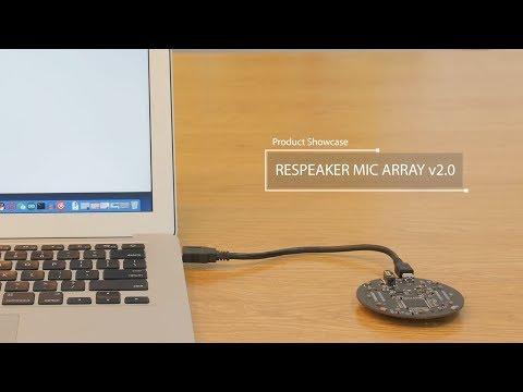 ReSpeaker Mic Array v2 0 - Seeed Wiki