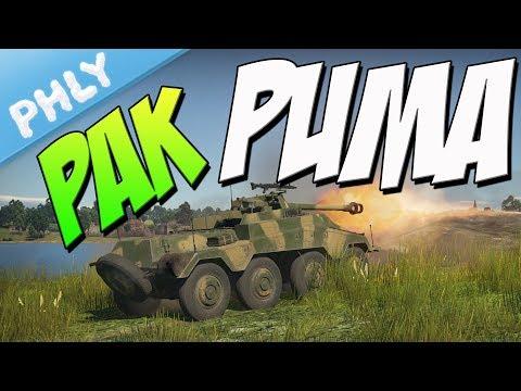 PAK-40 PUMA - Panzerspähwagen Sd.Kfz.234/4 (War Thunder Tanks Gameplay)
