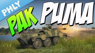 PAK-40 PUMA - Panzerspähwagen Sd.Kfz.234/4 (War Thunder Tanks Gameplay)