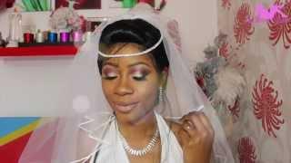 LaRoseShow: Bridal 1| maquillage de mariée tutorial