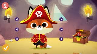 Dressing Up 🎀A Fun Game for Kids🌸App for Kids / fox Dog Cat Rabbit 兒童遊戲