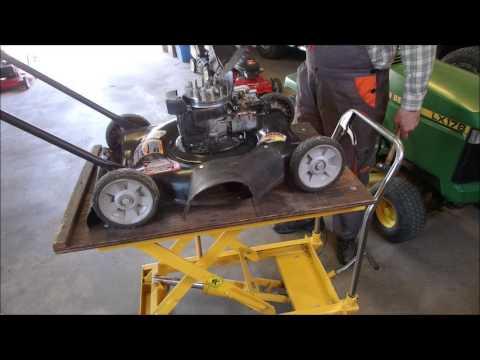 A Seized Briggs and Stratton Mower