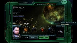 The mission of Wings of Liberty - Cutthroat - StarCraft II walkthrough