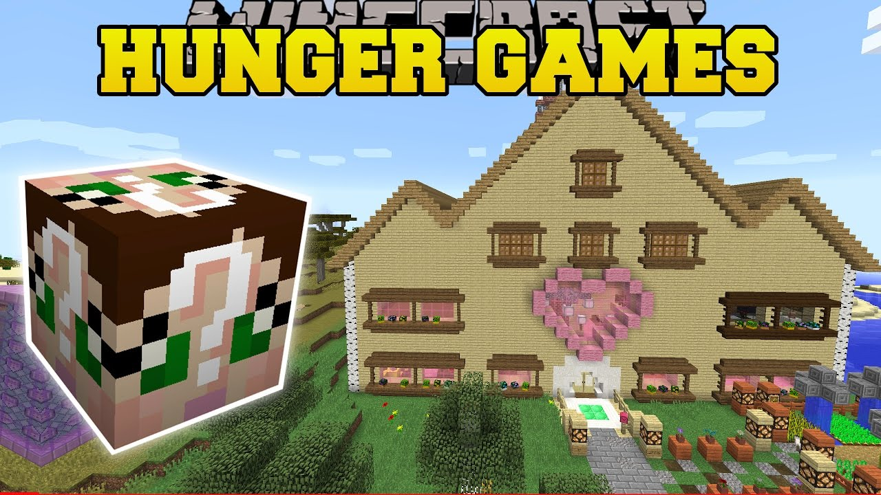 New House minecraft: jen's new house hunger games - lucky block mod - modded