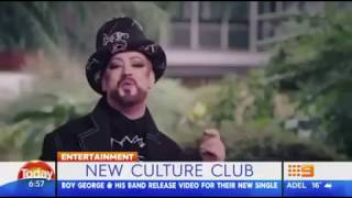 Culture Club - Let Somebody Love You (Today Show, Australia, 6 Sept '18)