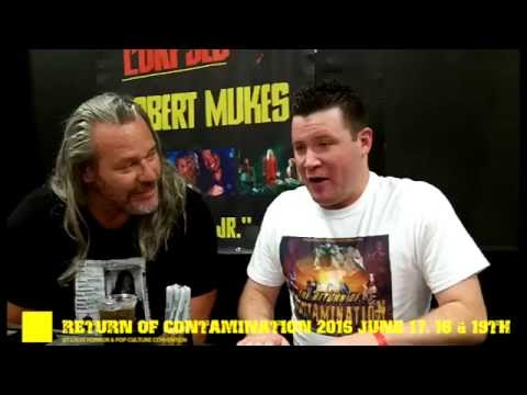 Contamination Comic Con Interview With Actor Robert Mukes 2016