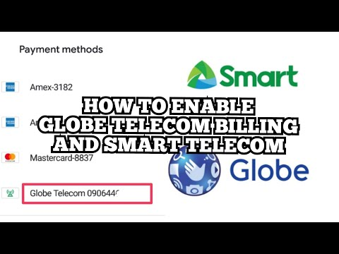 HOW TO ENABLE GLOBE TELECOM BILLING AND SMART TELECOM ( TAGALOG TUTORIAL )