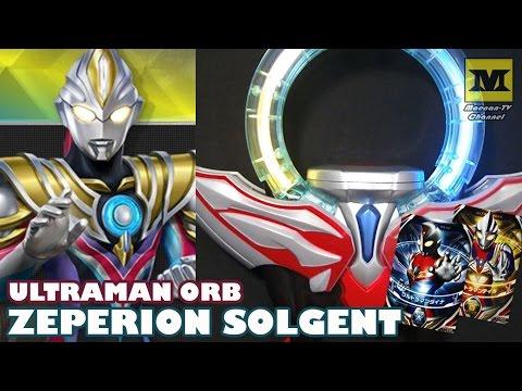 DX Orb Ring : Zeperion Solgent (Ultraman Dyna + Tiga)