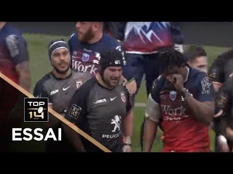 TOP 14 - Essai Clément CASTETS (ST) - Toulouse - Grenoble - J15 - Saison 2018/2019