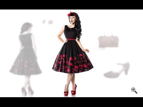Petticoat Kleid 50er 3 Rockabilly Outfit Tipps Für Amanda Youtube