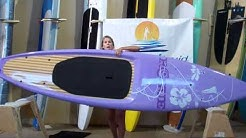 Stand up paddle boards review of 11 ft 4 in Rogue Diva by Stand on Liquid