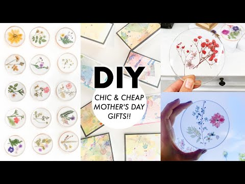 DIY: CHIC & CHEAP Mother's Day Gifts 2020!! By Orly Shani