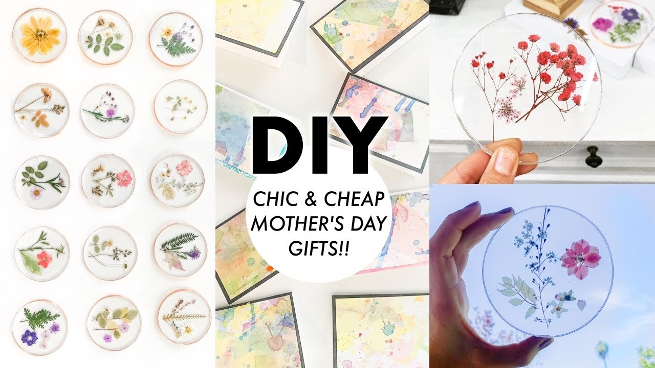 Diy Chic Cheap Mother S Day Gifts 2020 By Orly Shani Youtube