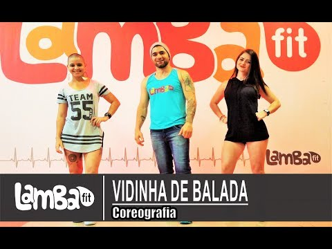 Vidinha de Balada - Henrique e Juliano - Coreografia Lambafit - Aula