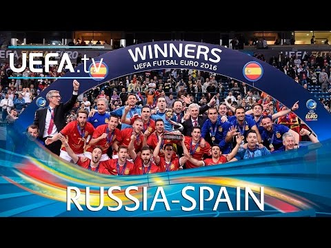 Futsal EURO Final Highlights: Watch seven-goal Spain win the title