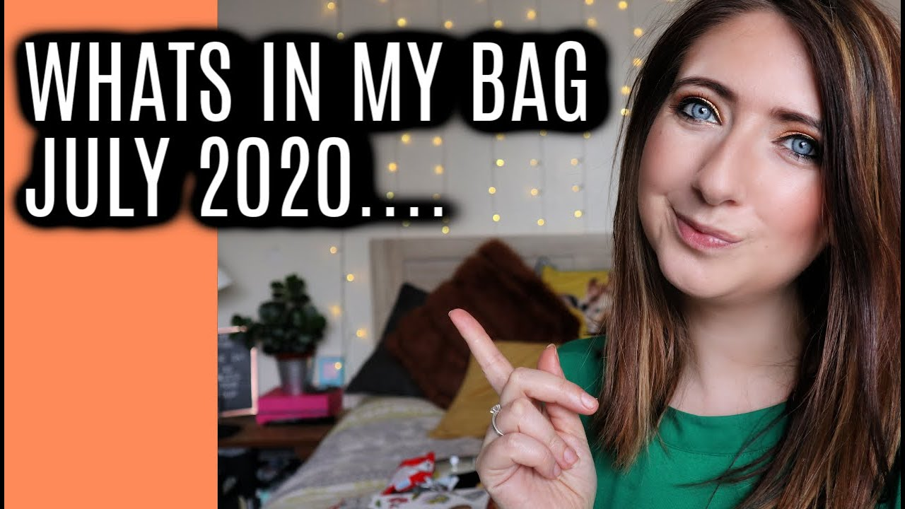 WHAT'S IN MY BAG 2020 NOW UN FURLOUGHED work bag | WILLOW BIGGS