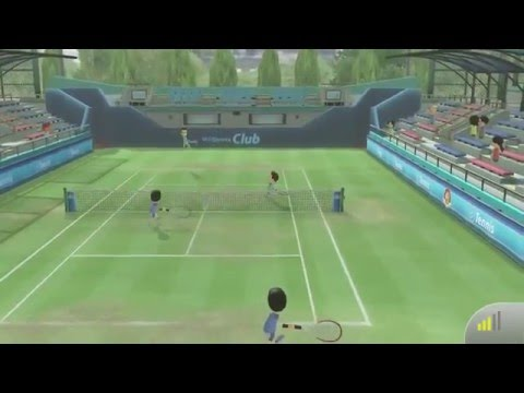 Wii Sports Club - Playing Tennis Online