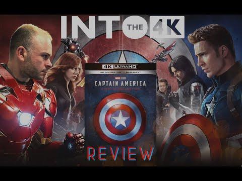 CAPTAIN AMERICA Trilogia - 4K UHD REVIEW
