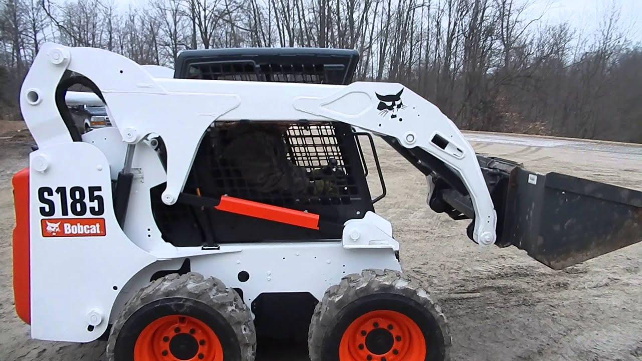 Bobcat S185 duel controls #1 C&C Equipment 812-336-2894