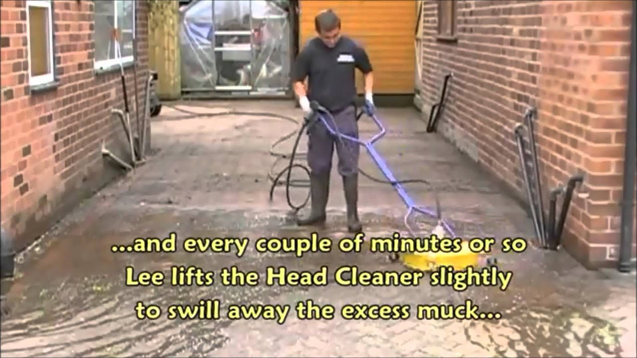 Cleaning Block Paving Driveway Sealing Pressure Jet