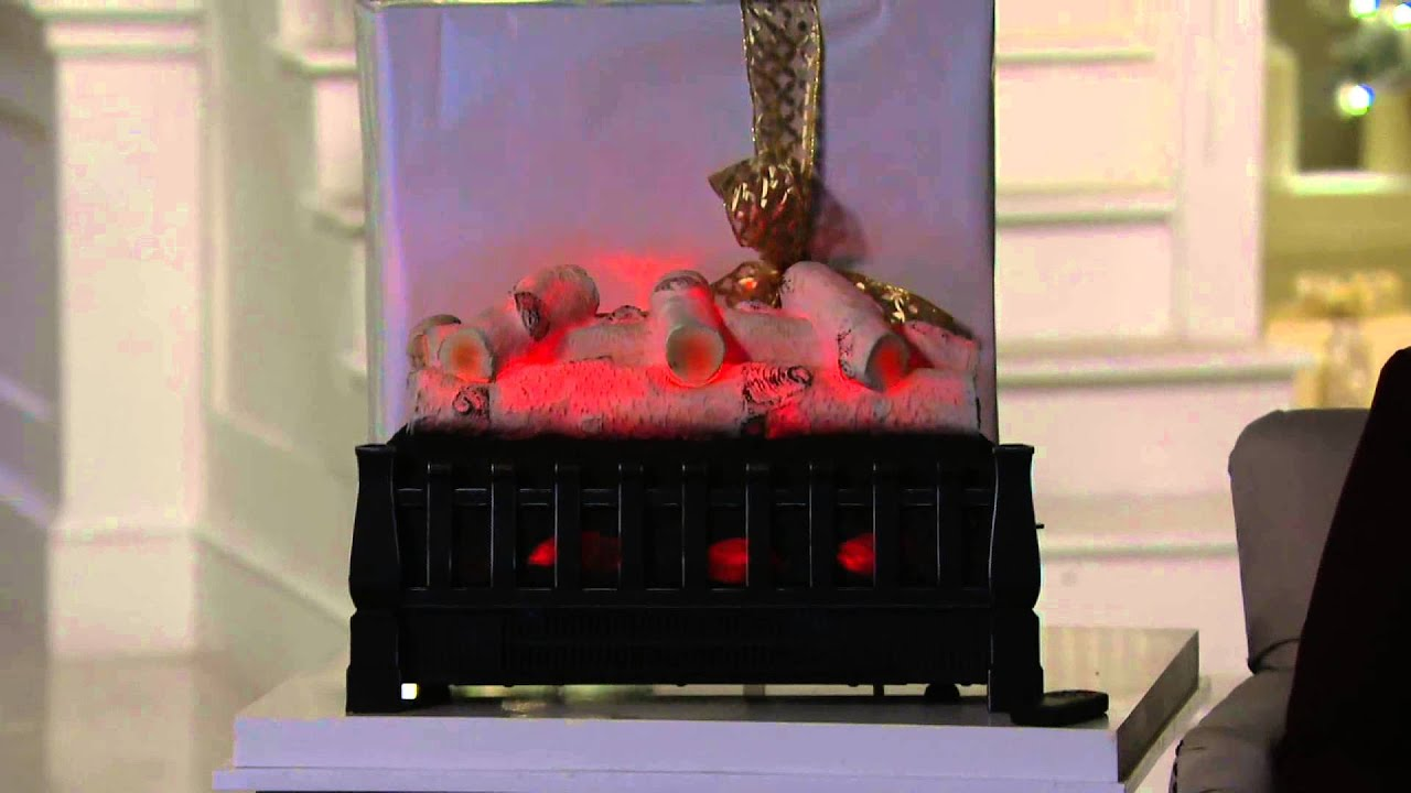 Duraflame Infrared Log Set Heater W/Flame Effect U0026 Remote On QVC
