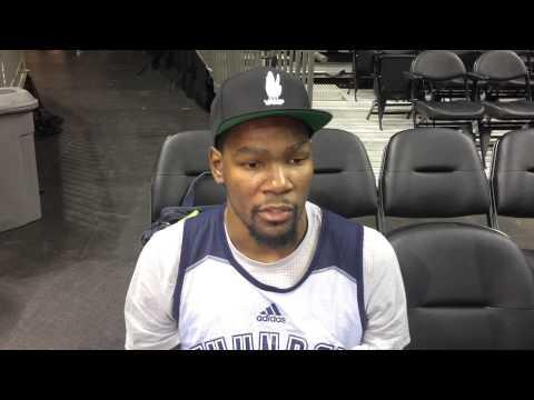Durant: Shootaround in Charlotte - Jan. 2, 2016