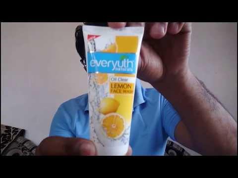 Everyuth Naturals Oil Clear Lemon Face Wash for Pimples Review | Best Facewash for Oily Skin