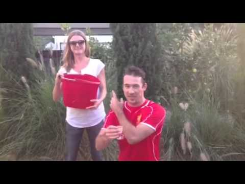 Barry Sloane Accepts the ALS Challenge!