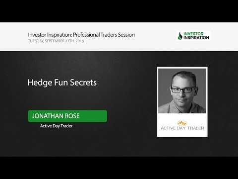 Hedge Fund Secrets | Jonathan Rose