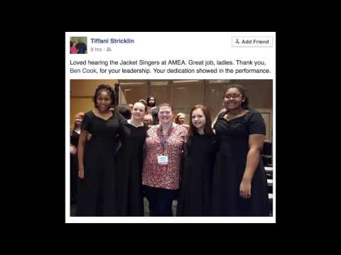 AMEA Professional Development Conference as told  Facebook & Twitter