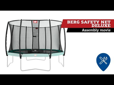 "Video: BERG® Trampolin ""Champion"" mit Sicherheitsnetz Deluxe"