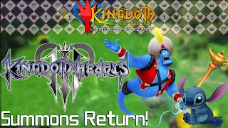 Summons are Returning in Kingdom Hearts 3 - Kingdom Call