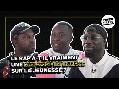 Youtube: Le rap a-t-il vraiment une mauvaise influence sur la jeunesse? Fif Tobossi / Bakhaw / Adama Camara
