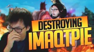 Doublelift- DESTROYING IMAQTPIE (FELT SO BAD FOR HIM)