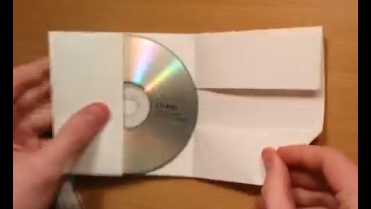 Favori créer une pochette cd avec une feuille A4 - Protégez vos cds à  KP31
