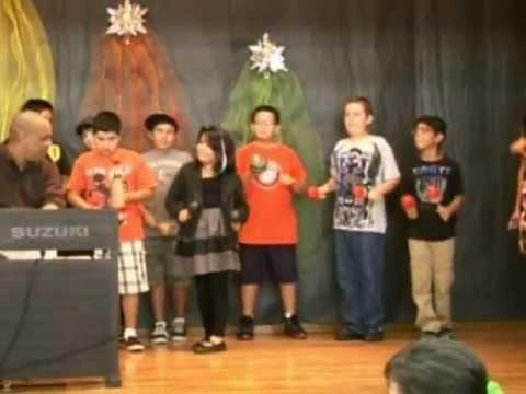 Chuchito Valdes Jr. Clinic at Egly Elementary School -15th Brownsville Latin Jazz Festival (2011)