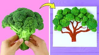 Art is Fun! 28 Painting Hacks and DIY Drawing Tricks
