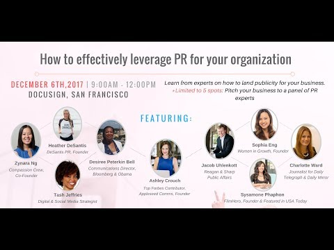 How To Effectively Leverage PR For Your Organization