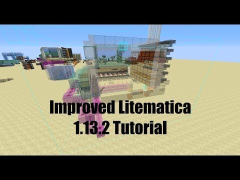Minecraft Litematica Tutorial
