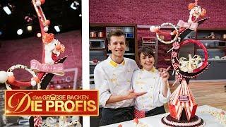 3 Meter hohe Torte! XXL-Zirkus-Kuchen | (2/2) | Das große Backen – Die Profis | SAT.1